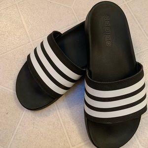 Adidas women's slides size 6
